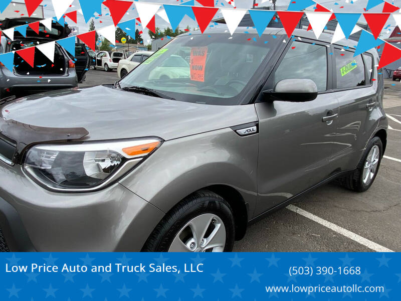 2015 Kia Soul for sale at Low Price Auto and Truck Sales, LLC in Salem OR