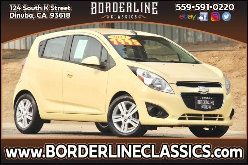 2013 Chevrolet Spark for sale at Borderline Classics in Dinuba CA