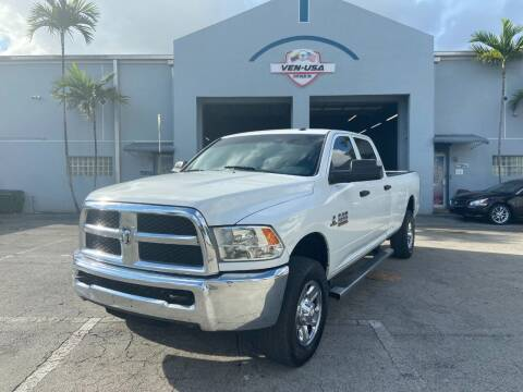 2018 RAM Ram Pickup 2500 for sale at Ven-Usa Autosales Inc in Miami FL