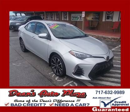 2018 Toyota Corolla for sale at Dean's Auto Plaza in Hanover PA