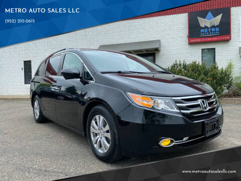 2016 Honda Odyssey for sale at METRO AUTO SALES LLC in Blaine MN