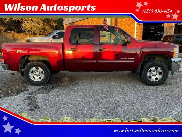 2013 Chevrolet Silverado 1500 for sale at Wilson Autosports LLC in Fort Walton Beach FL
