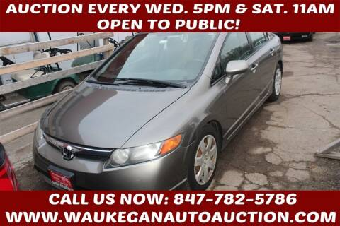 2007 Honda Civic for sale at Waukegan Auto Auction in Waukegan IL