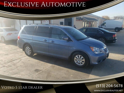 2010 Honda Odyssey for sale at Exclusive Automotive in West Chester OH