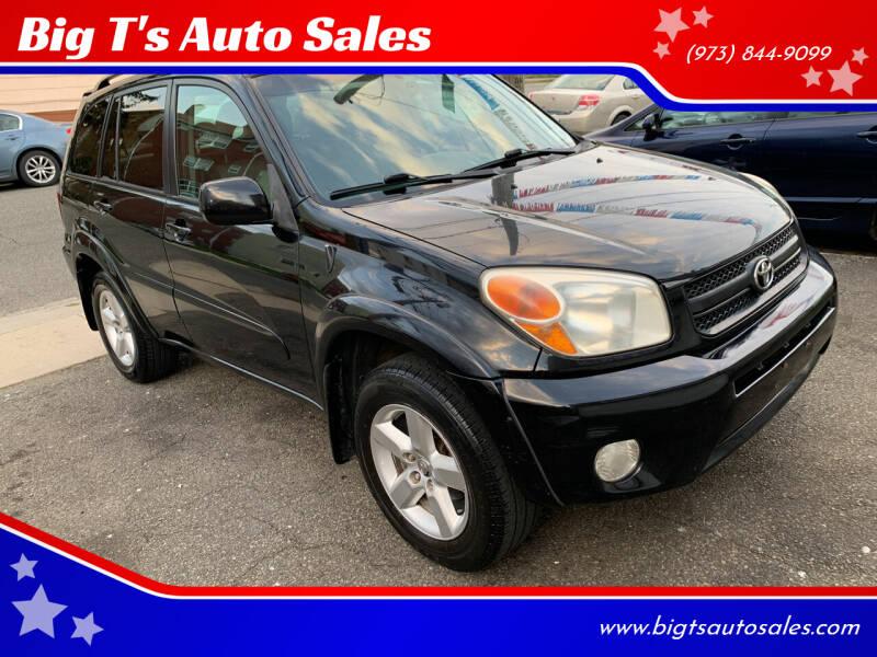 2005 Toyota RAV4 for sale at Big T's Auto Sales in Belleville NJ