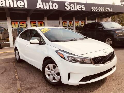 2017 Kia Forte for sale at Daniel Auto Sales inc in Clinton Township MI