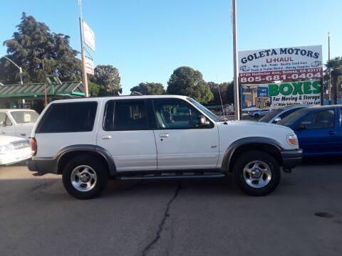 2000 Ford Explorer for sale at Goleta Motors in Goleta CA
