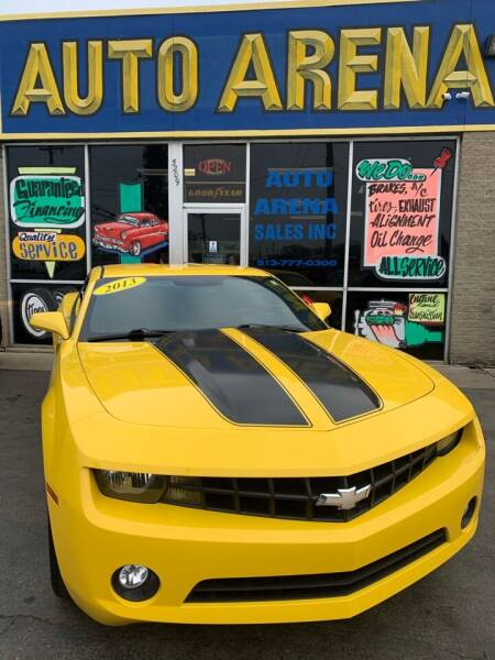 2013 Chevrolet Camaro for sale at Auto Arena in Fairfield OH