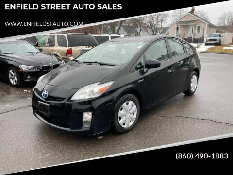 2011 Toyota Prius for sale at ENFIELD STREET AUTO SALES in Enfield CT