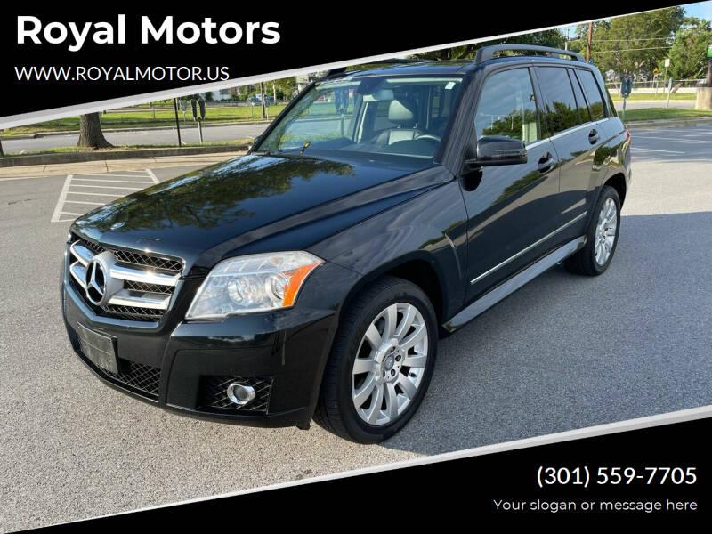 2010 Mercedes-Benz GLK for sale at Royal Motors in Hyattsville MD