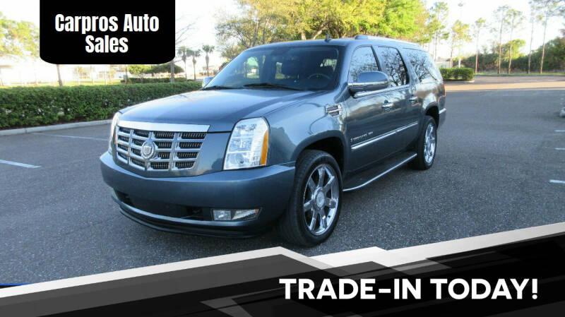 2008 Cadillac Escalade ESV for sale at Carpros Auto Sales in Largo FL
