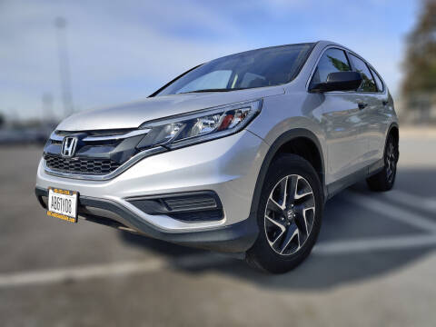 2016 Honda CR-V for sale at ALL CREDIT AUTO SALES in San Jose CA