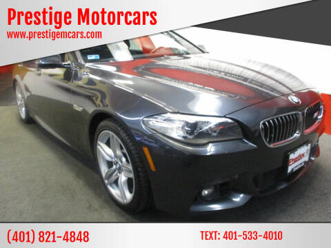 2014 BMW 5 Series for sale at Prestige Motorcars in Warwick RI