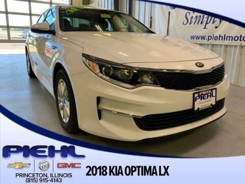 2018 Kia Optima for sale at Piehl Motors - PIEHL Chevrolet Buick Cadillac in Princeton IL