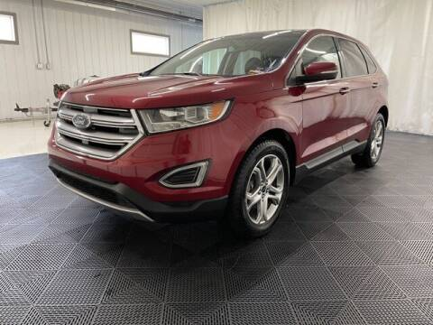 2016 Ford Edge for sale at Monster Motors in Michigan Center MI