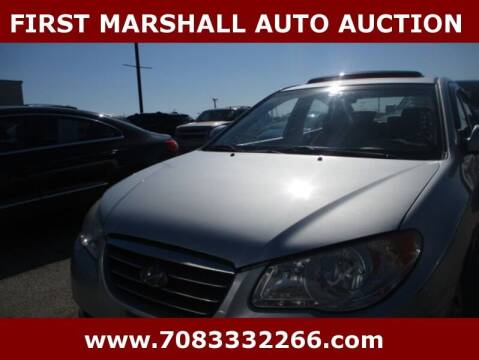 2009 Hyundai Elantra for sale at First Marshall Auto Auction in Harvey IL
