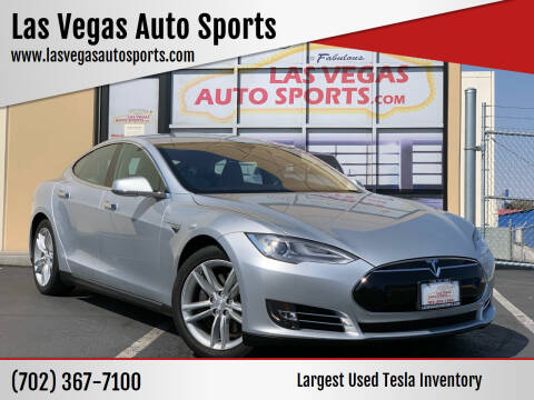 2013 Tesla Model S for sale at Las Vegas Auto Sports in Las Vegas NV
