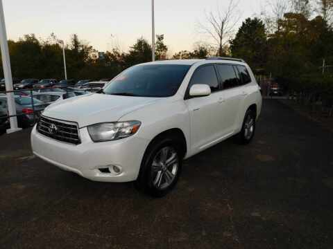 2008 Toyota Highlander for sale at Paniagua Auto Mall in Dalton GA