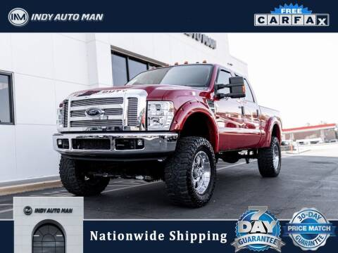 2008 Ford F-250 Super Duty for sale at INDY AUTO MAN in Indianapolis IN