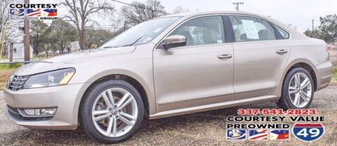 2015 Volkswagen Passat for sale at Courtesy Value Pre-Owned I-49 in Lafayette LA