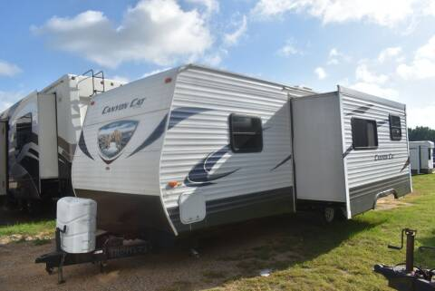 2014 Forest River Canyon Cat 26FBSC for sale at Buy Here Pay Here RV in Burleson TX
