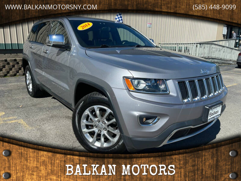 2014 Jeep Grand Cherokee for sale at BALKAN MOTORS in East Rochester NY