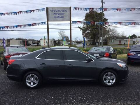 2015 Chevrolet Malibu for sale at Affordable Autos II in Houma LA
