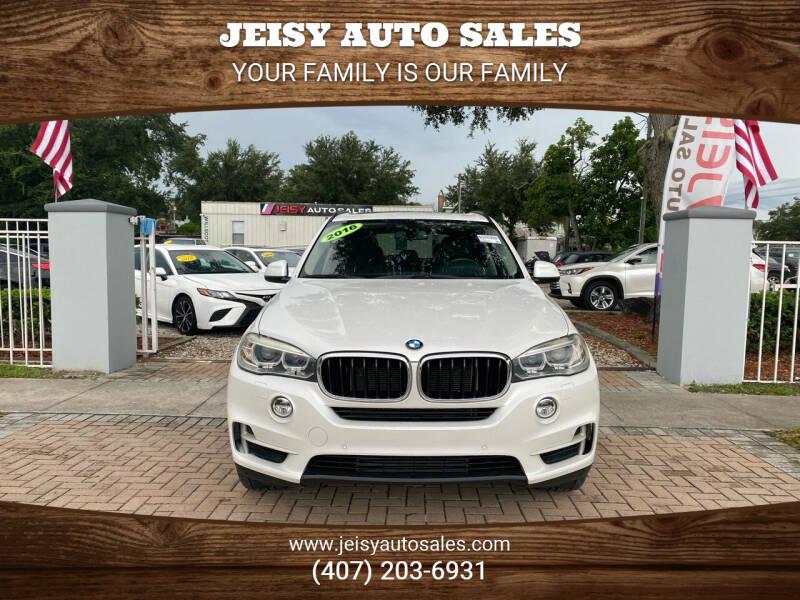 2016 BMW X5 for sale at JEISY AUTO SALES in Orlando FL