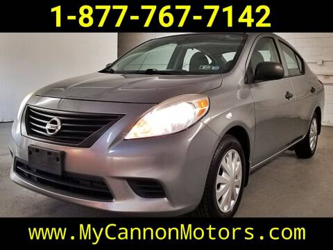 2014 Nissan Versa for sale at Cannon Motors in Silverdale PA