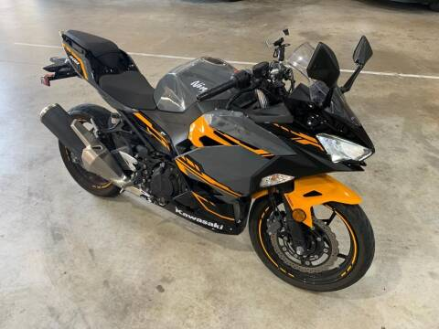2018 Kawasaki Ninja 400 for sale at KAYALAR MOTORS Mechanic in Houston TX