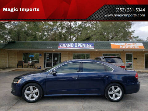 2013 Volkswagen Passat for sale at Magic Imports in Melrose FL