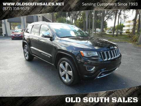 2014 Jeep Grand Cherokee for sale at OLD SOUTH SALES in Vero Beach FL