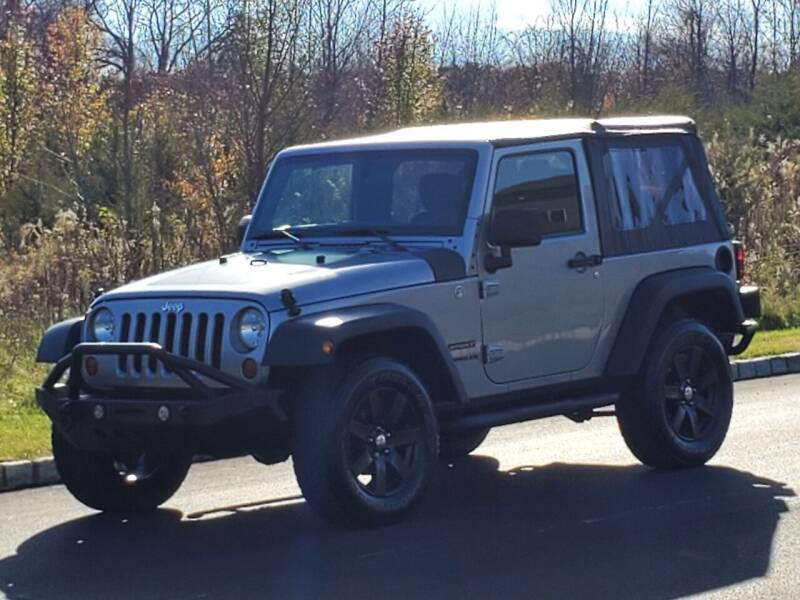 2013 Jeep Wrangler for sale at R & R AUTO SALES in Poughkeepsie NY