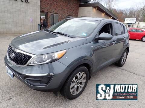 2015 Kia Sportage for sale at S & J Motor Co Inc. in Merrimack NH