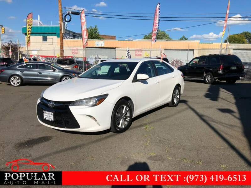 2015 Toyota Camry for sale at Popular Auto Mall Inc in Newark NJ