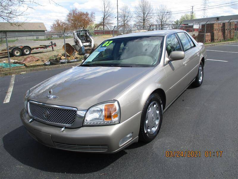2002 Cadillac DeVille for sale at Euro Asian Cars in Knoxville TN