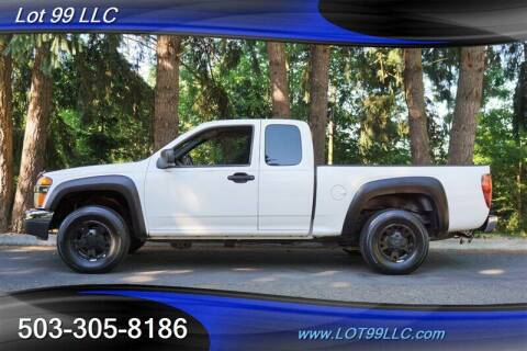 2007 Chevrolet Colorado for sale at LOT 99 LLC in Milwaukie OR