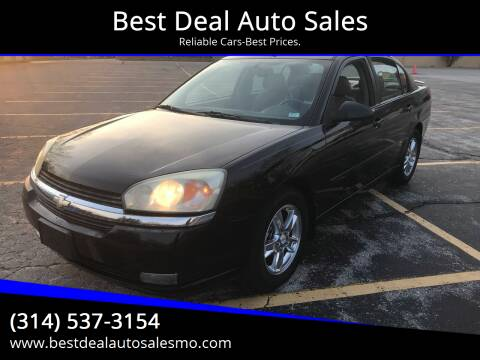 2005 Chevrolet Malibu for sale at Best Deal Auto Sales in Saint Charles MO