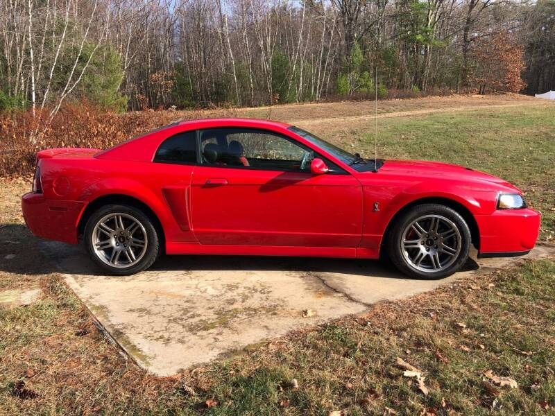 2003 Ford Mustang SVT Cobra for sale at Cella  Motors LLC in Auburn NH