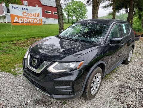 2018 Nissan Rogue for sale at Caulfields Family Auto Sales in Bath PA
