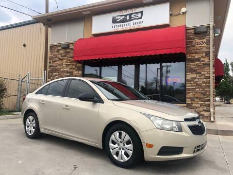 2012 Chevrolet Cruze for sale at 719 Automotive Group in Colorado Springs CO