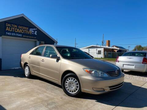 2002 Toyota Camry for sale at Dalton George Automotive in Marietta OH