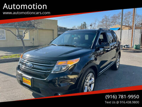 2012 Ford Explorer for sale at Automotion in Roseville CA