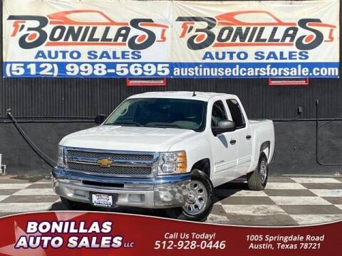 2013 Chevrolet Silverado 1500 for sale at Bonillas Auto Sales in Austin TX