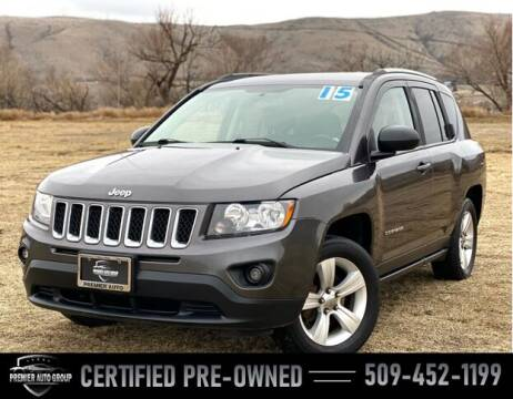 2015 Jeep Compass for sale at Premier Auto Group in Union Gap WA