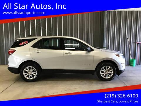 2018 Chevrolet Equinox for sale at All Star Autos, Inc in La Porte IN