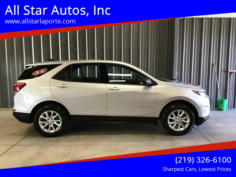 2018 Chevrolet Equinox for sale at All Star Autos, Inc in La Porte IN