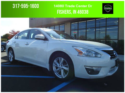 2014 Nissan Altima for sale at Omega Autosports of Fishers in Fishers IN