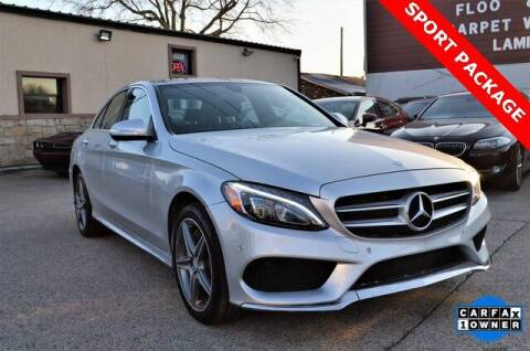 2015 Mercedes-Benz C-Class for sale at LAKESIDE MOTORS, INC. in Sachse TX