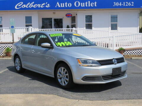 2014 Volkswagen Jetta for sale at Colbert's Auto Outlet in Hickory NC